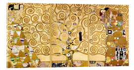 Acrylic print  The tree of life (Detail) - Gustav Klimt