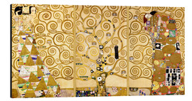 Alu-Dibond  The Tree of Life (Detail) - Gustav Klimt