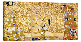 Canvas  The tree of life (Detail) - Gustav Klimt