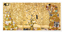 Poster  The Tree of Life (Detail) - Gustav Klimt