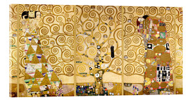 Acrylic glass  The Tree of Life (Complete) - Gustav Klimt