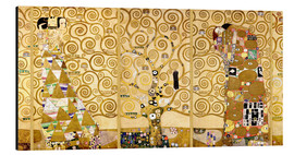 Alu-Dibond  The Tree of Life (Complete) - Gustav Klimt