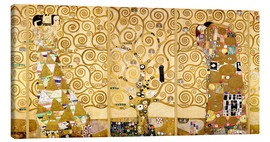 Canvas print  The Tree of Life (Complete) - Gustav Klimt
