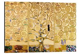 Aluminium print  The tree of life - Gustav Klimt