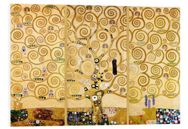 Foam board print  The tree of life - Gustav Klimt