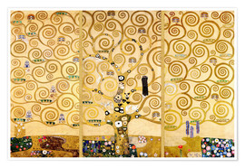 Premium poster  The tree of life - Gustav Klimt