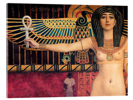 Acrylic glass  Ancient Egypt (Isis, Zwickel image) - Gustav Klimt