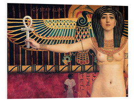 Foam board print  Ancient Egypt (Isis) - Gustav Klimt