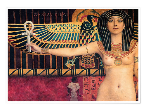 Poster Ancient Egypt (Isis, Zwickel image)