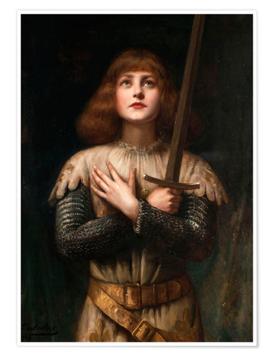 Premium poster Joan of Arc