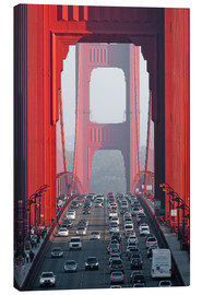Canvas print  Golden Gate Bridge, San Francisco, USA - Peter Wey