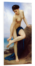 Foam board print  After the bath - William Adolphe Bouguereau