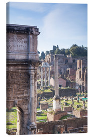 Canvas print  Ruins of the ancient roman forum - Matteo Colombo