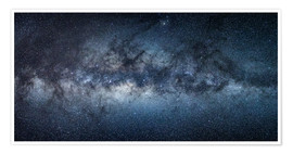 Premium poster Milky Way Panorama