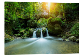 Acrylic print  romantic waterfall - rclassen