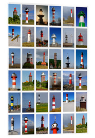 Acrylic glass  Lighthouses - Sarnade