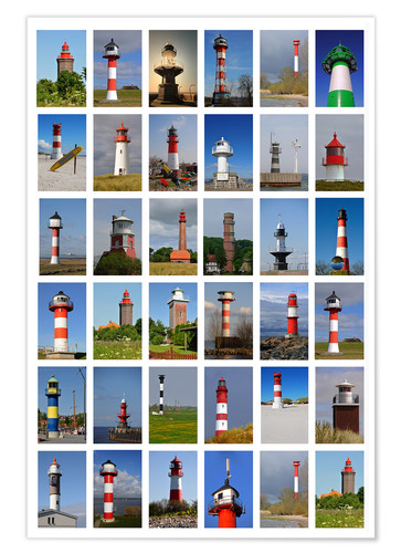 Premium poster Lighthouses