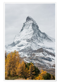 Poster  Matterhorn from Riffelalp, Zermatt, Switzerland - Peter Wey