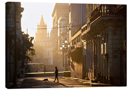 Canvas print  Road at dawn, Havana - Lee Frost