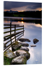 Acrylic print  Loughrigg Tarn in England - Jeremy Lightfoot