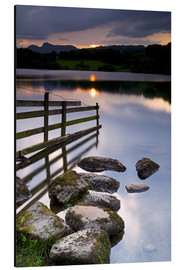 Aluminium print  Loughrigg Tarn in England - Jeremy Lightfoot