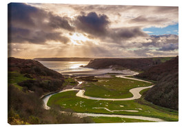 Canvas print  Pennard pill in Wales - Billy Stock