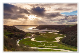 Premium poster Pennard pill in Wales