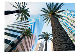 Acrylic print  Downtown, Los Angeles, California, United States of America, North America - Gavin Hellier