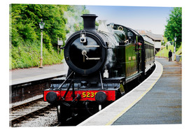 Acrylic print  Dartmouth Kingswear station - David Hughes