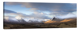 Canvas  Rannoch Moor Panorama - Lee Frost