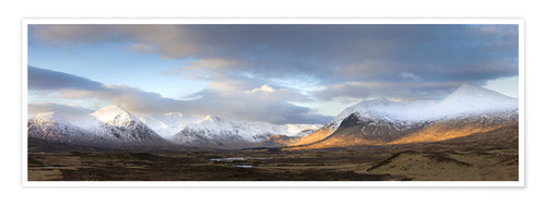 Poster Rannoch Moor Panorama