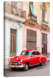 Canvas print  Restored American car, Havana - Lee Frost