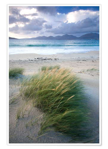 Premium poster Beach at Luskentyre