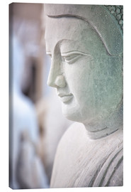 Canvas  Buddha statue in Myanmar - Lee Frost