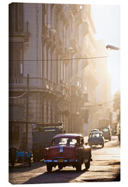 Canvas print  Oldtimers in Havana - Lee Frost
