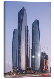 Canvas print  Etihad Towers, Abu Dhabi - Angelo Cavalli