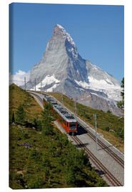 Canvas  Excursion to the Matterhorn - Hans-Peter Merten