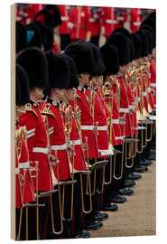 Wood  Soldiers at Trooping the Colour 2012, The Queen's Birthday Parade, Horse Guards, Whitehall, London,  - Hans-Peter Merten