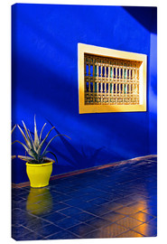 Canvas print  Blue house, Majorelle Garden - Guy Thouvenin