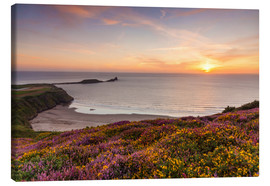 Canvas  Rhossili Bay, Wales - Billy Stock