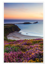 Premium poster  Rhossili Bay, Wales - Billy Stock