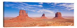 Canvas  Monument Valley Navajo - Neale Clarke