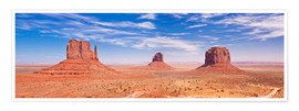 Poster  Monument Valley Navajo - Neale Clarke