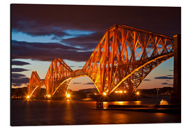 Aluminium print  Forth Rail Bridge, South Queensferry - Neale Clarke