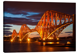Canvas print  Forth Rail Bridge, South Queensferry - Neale Clarke