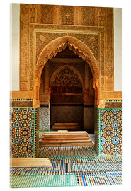 Acrylic glass  Saadian Tombs in Medina - Jochen Schlenker