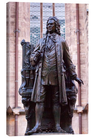 Canvas print  Statue of Bach, Leipzig - Michael Snell