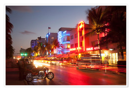 Angelo Cavalli - Ocean Drive, South Beach, Art Deco district, Miami Beach, Miami, Florida, United States of America,