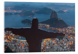 Acrylic print  Christ the Redeemer, Corcovado - Angelo Cavalli