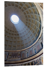 Martin Child - A shaft of light through the dome of the Pantheon, UNESCO World Heritage Site, Rome, Lazio, Italy, E